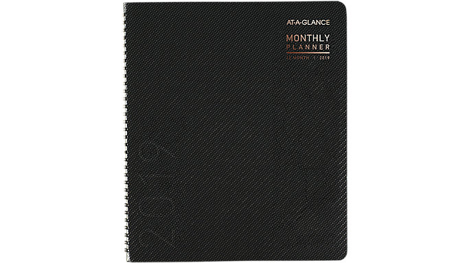 contempo monthly planner 70260x at a glance