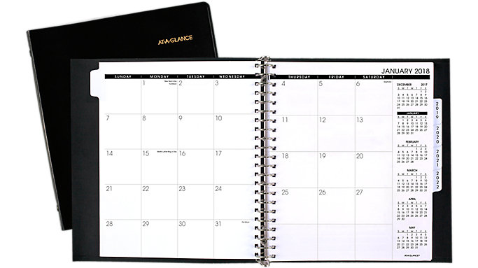 AT-A-GLANCE 5-Year Monthly Planner  (70296)