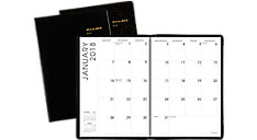 Faux Croc Monthly Planner (Item # 70432)
