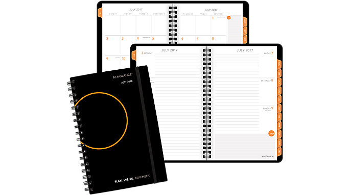AT-A-GLANCE PLAN. WRITE. REMEMBER. Academic Weekly-Monthly Planner  (705101)