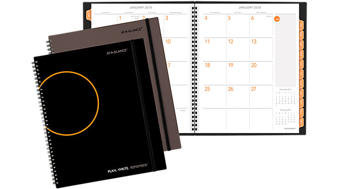 AT-A-GLANCE PLAN. WRITE. REMEMBER. Monthly Planner  (705260)