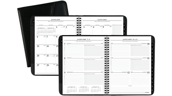 AT-A-GLANCE Executive Weekly-Monthly Appointment Book  (70545)
