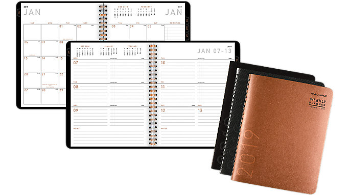 AT-A-GLANCE Contempo Weekly-Monthly Planner  (70545X)