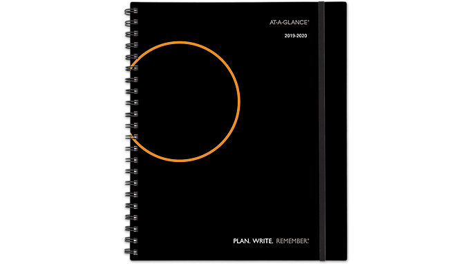 AT-A-GLANCE PLAN. WRITE. REMEMBER. Academic Weekly-Monthly Appointment Book  (705957)