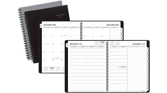 AT-A-GLANCE Notetaker Fashion Weekly-Monthly Planner  (70738)