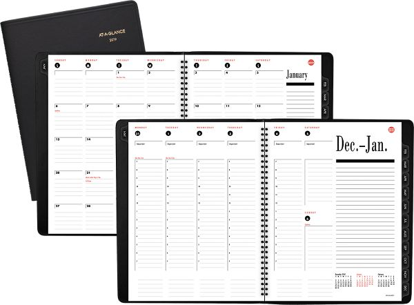At-A-Glance 800-Range Weekly-Monthly Appointment Book -