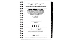 Weekly-Monthly Appointment Book Refill for 70-545 (Item # 70908)