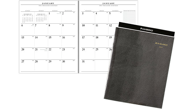 AT-A-GLANCE Monthly Planner Refill for 70-290  (70909)