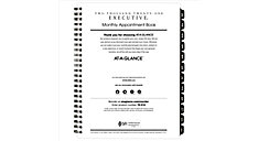Executive Monthly Planner Refill for 70-N547 (Item # 70914)