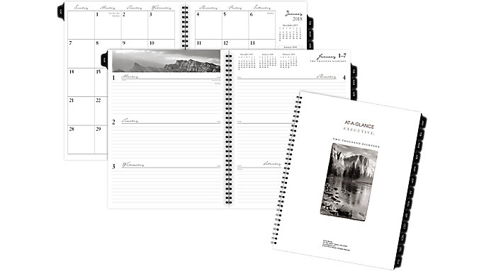 AT-A-GLANCE Weekly-Monthly Planner Refill for 70-NF81  (70915)