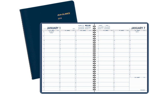 AT-A-GLANCE Fashion Weekly Appointment Book  (70940)