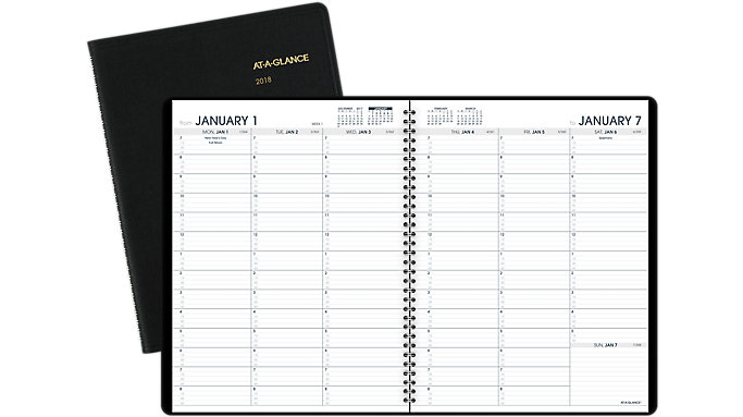 AT-A-GLANCE Weekly Appointment Book  (70950)