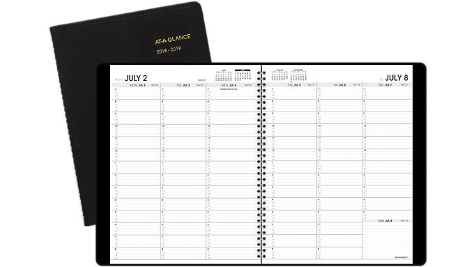 AT-A-GLANCE Academic Weekly Appointment Book  (70957)