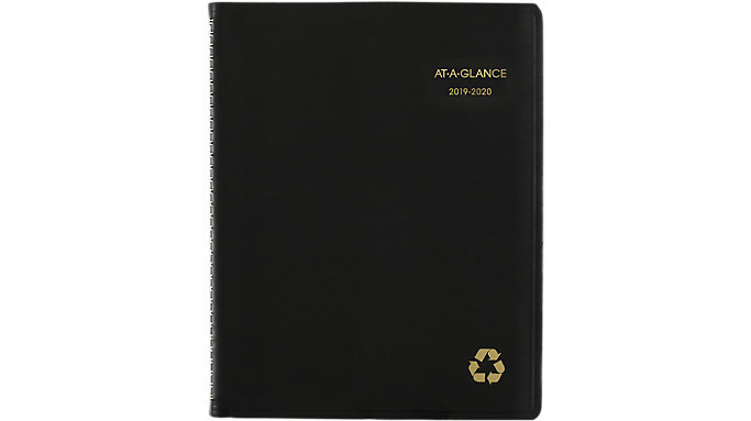 AT-A-GLANCE Recycled Academic Weekly-Monthly Appointment Book  (70957G)