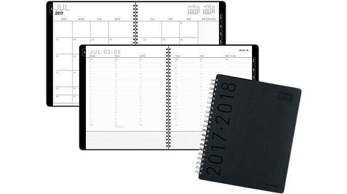 AT-A-GLANCE Contempo Academic Weekly-Monthly Appointment Book  (70957H)