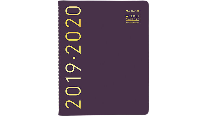 AT-A-GLANCE Contempo Academic Weekly-Monthly Appointment Book  (70957X)