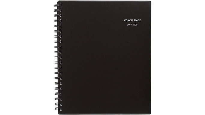 AT-A-GLANCE Notetaker Academic Weekly-Monthly Planner  (70A738)