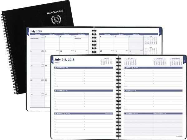 At-A-Glance Collegiate Weekly-Monthly Academic Appointment Book - Academic Planners