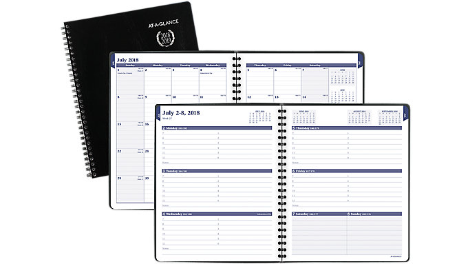 AT-A-GLANCE Collegiate Weekly-Monthly Academic Appointment Book  (70CP01)