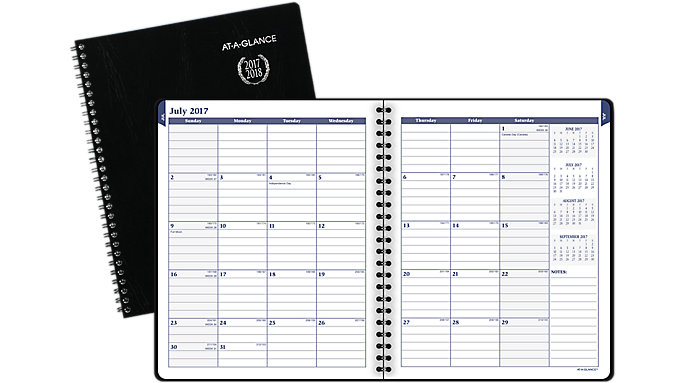 AT-A-GLANCE Collegiate Monthly Academic Planner  (70CP06)