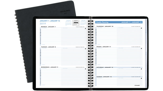 the action planner weekly appointment book