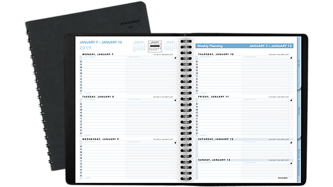 AT-A-GLANCE The Action Planner Weekly Appointment Book  (70EP05)