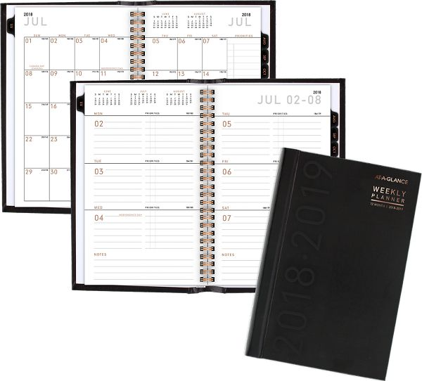 At-A-Glance Contempo Academic Weekly-Monthly Hardcover Planner - Academic Planners