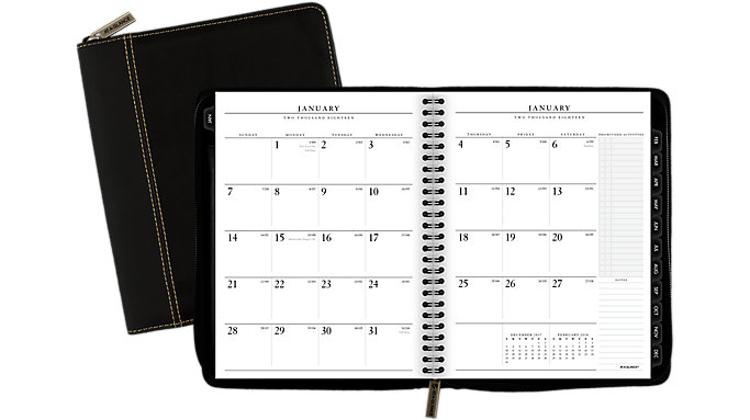 AT-A-GLANCE Executive Monthly Planner  (70N547)
