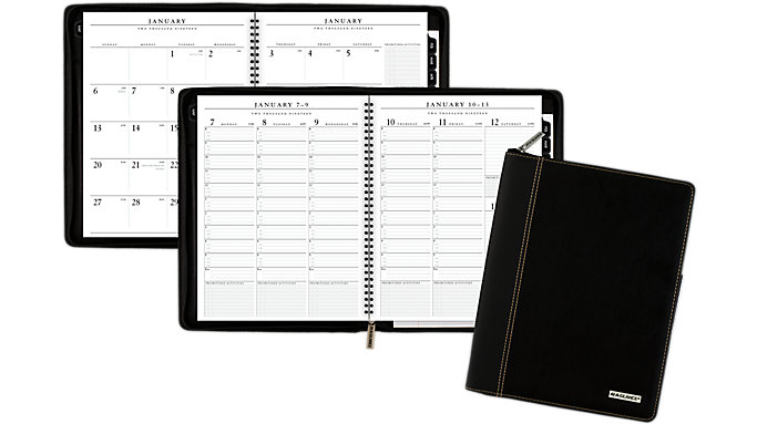 AT-A-GLANCE Executive Weekly-Monthly Appointment Book  (70NX81)