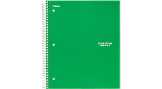 Wirebound College Ruled Notebook 5 Subject | 06184 | Five Star