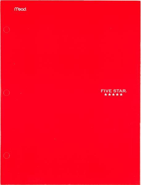Five Star 4-Pocket Paper Folder - Folders