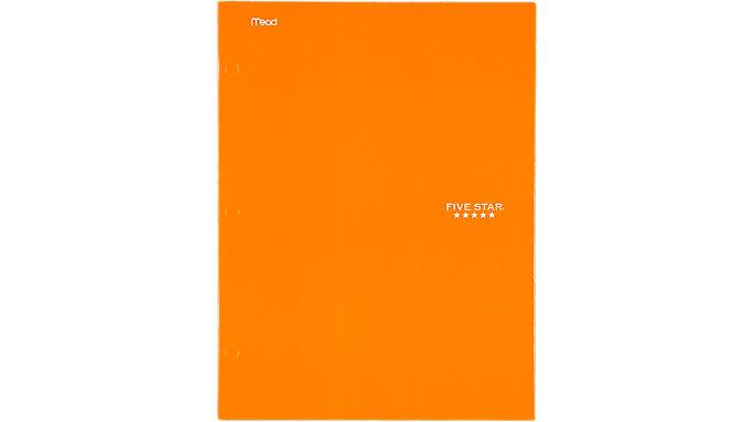 Five Star 4-Pocket Paper Folder  (33106C)