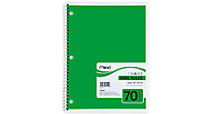Spiral Notebook 1 Subject (Item # 05510C)