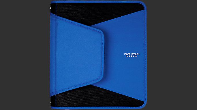 Five Star 1 5 inch Tech Binder Blue