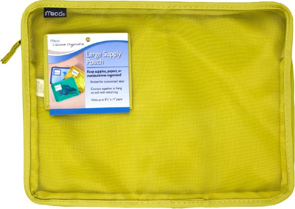 Mead Large Supply Pouch - Classroom & Office Storage