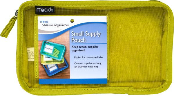 Mead Small Supply Pouch - Classroom & Office Storage