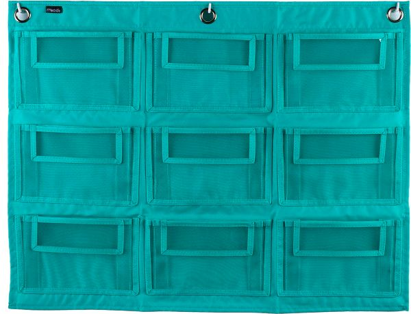 Mead Supplies 9-Pocket Wall Storage - Classroom & Office Storage