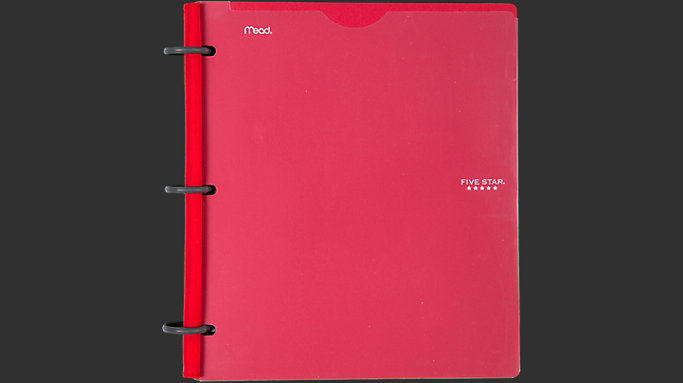 1 inch hybrid notebinder with customizable cover 29176c five