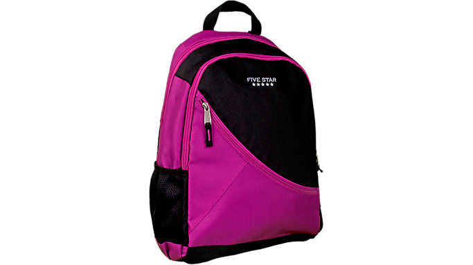 Five Star Angle Zip Plus Backpack  (FSBKAZ)
