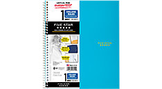 Wirebound College Ruled Notebook 1 Subject (Item # 06206C)