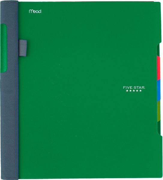 Wirebound College Ruled Notebook 3 Subject, 06324 By Five Star
