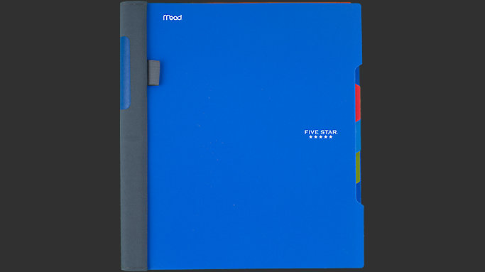 Wirebound College Ruled Notebook 3 Subject | 06324 | Five