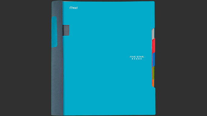 Wirebound College Ruled Notebook 5 Subject | 06326 | Five