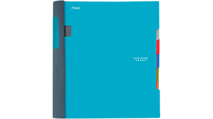 Five Star Advance Wirebound College Ruled Notebook 5 Subject  (06326)
