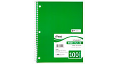 Spiral Notebook (Item # 05514C)