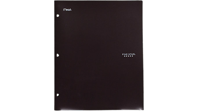 Five Star Stay-Put Folder and File  (33210)