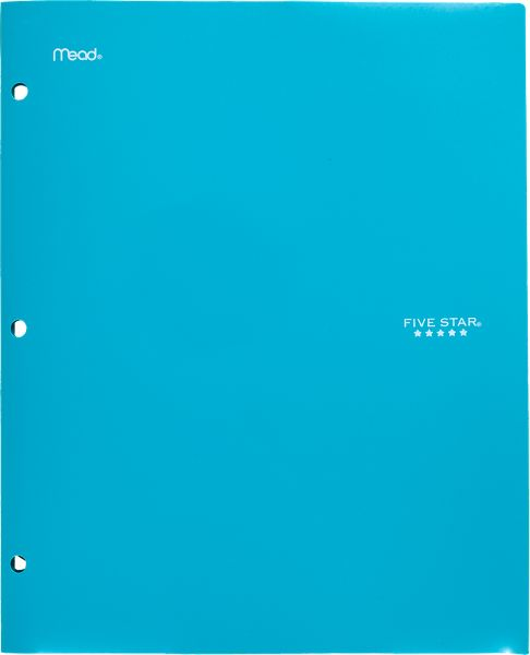 Five Star Stay-Put Folder and File - Folders