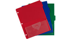 NotePocket Tabbed Divider 3-Pack (Item # 20016)