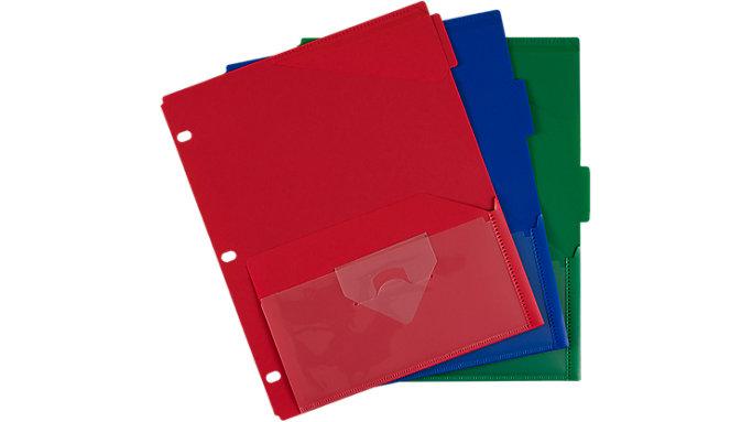 Five Star Flex Divider NotePocket 3 Pack  (20016)