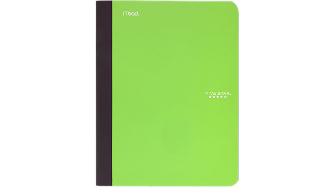Five Star Plastic Composition Book with Pocket  (09276)